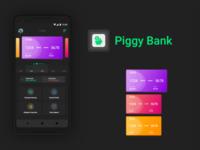 Piggy bank design concept
