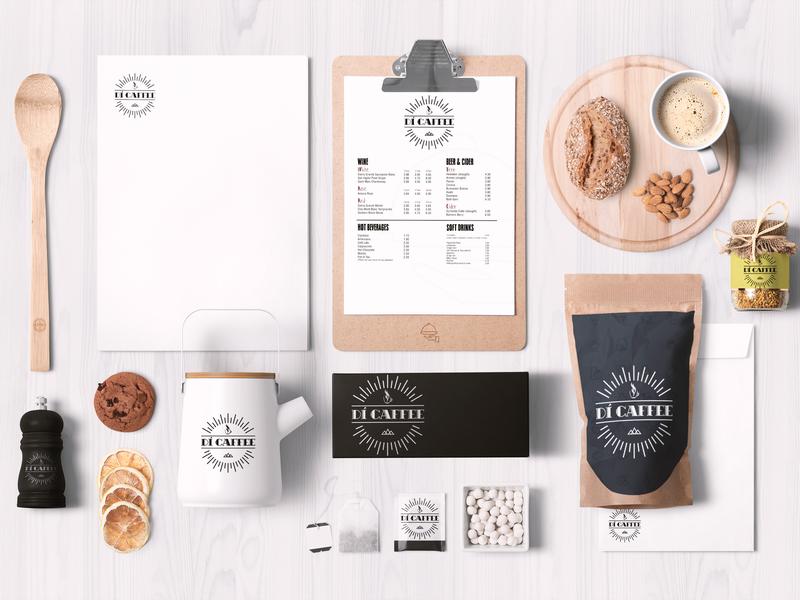 Di Caffee Logo branding logo @design