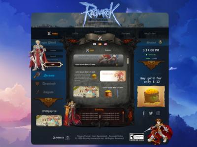 Web Design - Gamer -MMORPG.