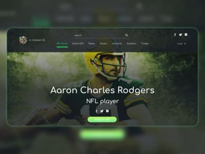 perfil - Aaron charles NFL