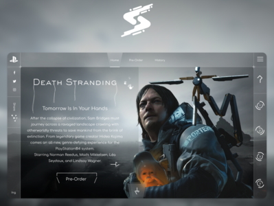 UI Design - Death Stranding
