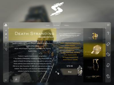UI Design - Death Stranding - par2