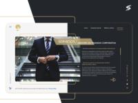 G&G Capital Group part3 web concept corporate design business web ui  ux design ui  ux uiux ui design web design webdesign design ui