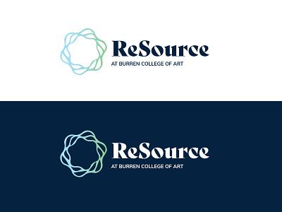 RESOURCE LOGO logo branding illustration design