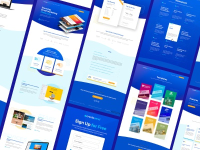 create send illustration web design wordpress design