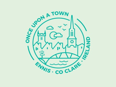 weekly warm up - your town stamp illustrator vector logo illustration my town sticker weekly warm-up
