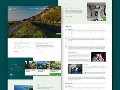 Tourism Website corporate design wordpress web design