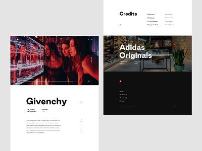 Black Lemon - Case study footer page case study ux ui minimalist clean layout cover webdesign luxury luxurious art direction