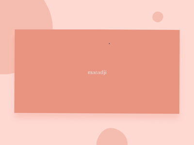 Maradji - Lookbook 👜 bodymovin cover fashion loader transition scroll smooth interaction navigation woocommerce e-commerce e-shop website webdesign lookbook