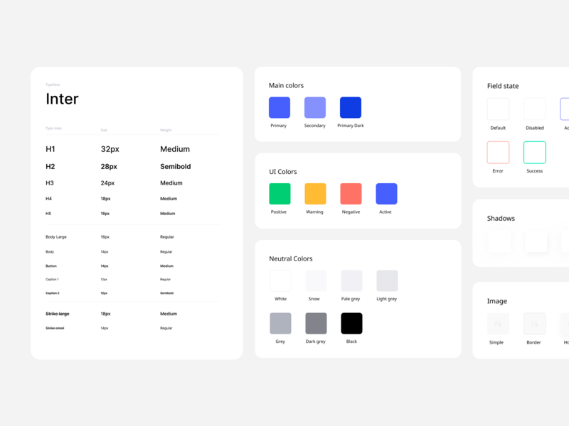 Styleguide | Cassiopeia UI Kit figma sketch styleguide e-commerce store flower free uikit web ui