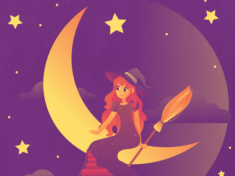 Little witch moon witch