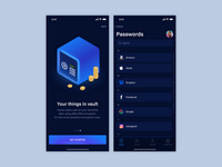 Password Manager - Onboarding & Passwords