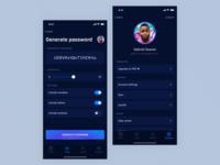 Password Manager App - Generate Password & Settings