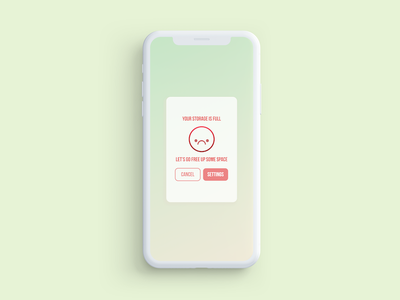 Daily UI Challenge #016: Pop-up/Overlay 100 day ui challenge prototype ux ui iphone overlay popup daily ui