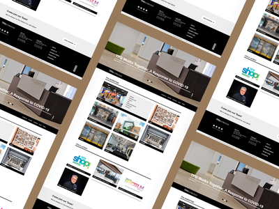 TPG Architecture ui design webdesign website