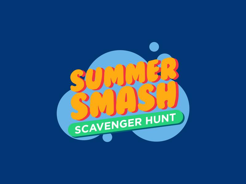 SummerSmash logo brand identity branding logo