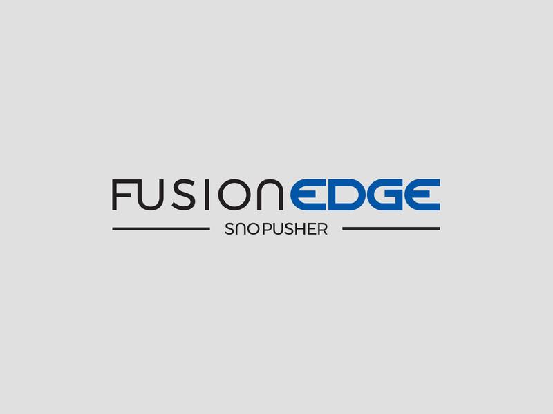 Pro-Tech Fusion Edge Sno Pusher brand identity brand identity logo brand