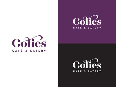 Colie's Cafe & Eatery brand identity brand identity brand logo