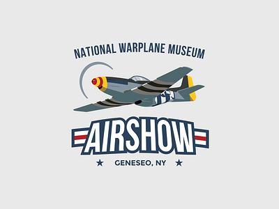 National Warplane Museum Airshow brand identity brand identity brand logo