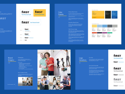 First Financial Brand Guidelines brand guidelines
