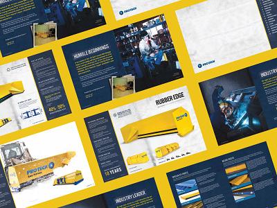 Pro-Tech product catalog design print design catalog print