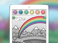 Coloring Screen