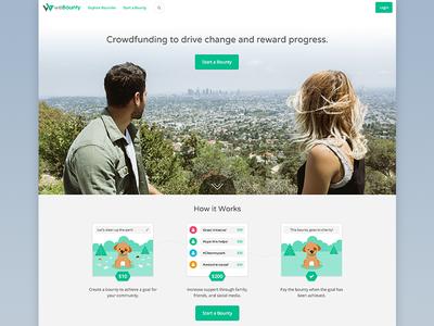 weBounty Homepage
