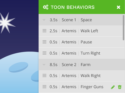 Toon Behaviors