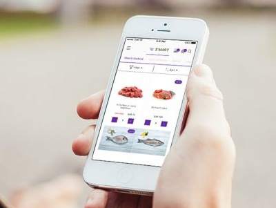 S-mart Mobile App grocery ecomerce mobile app ui ux