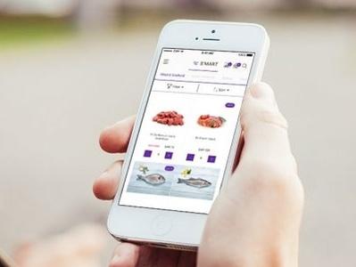 S-mart Mobile App grocery ecomerce mobile app ui ux