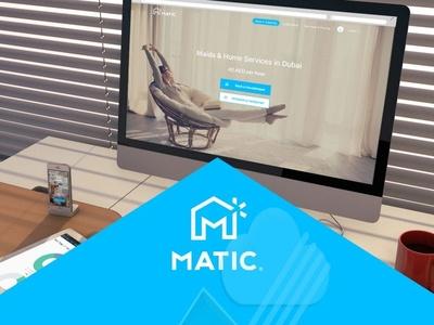 Matic.ae design ui ux