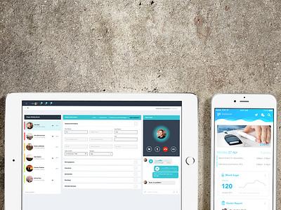 Shifa Telemedicine web app mobile app ux ui