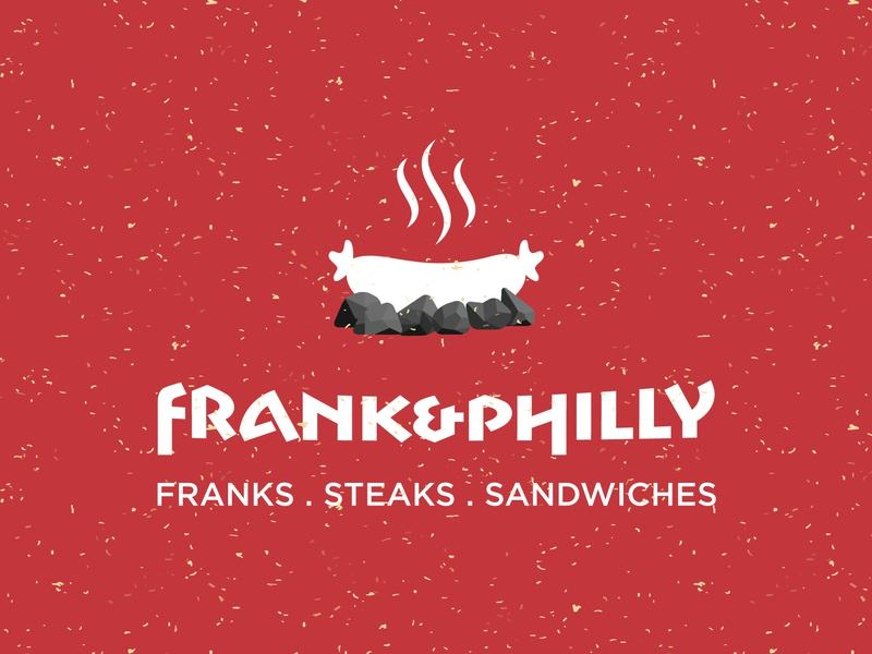 Frank And Philly Logo 1 illustration vector typography branding logo