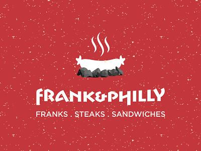 Frank And Philly Logo 1 illustration vector typography branding logo