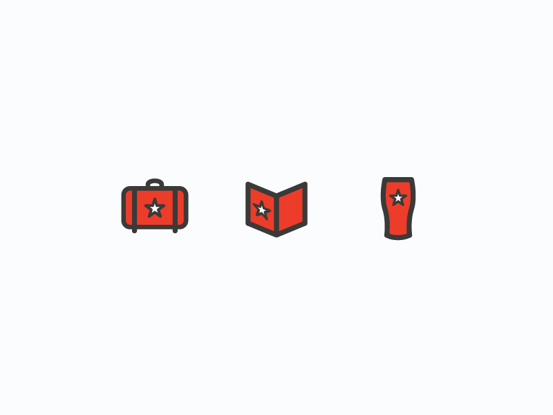 Tripsy icons