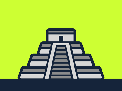 Chichén Itzá Icon iconset icons mexico