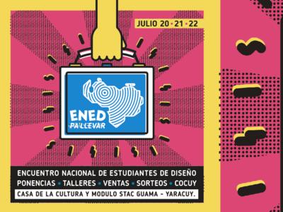 Flyer para Encuentro Nacional de Diseño 2017