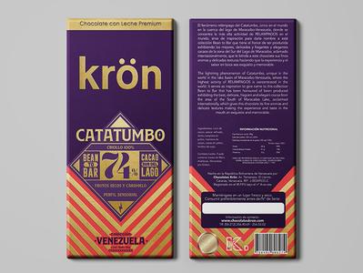 Empaque para Chocolate Kron