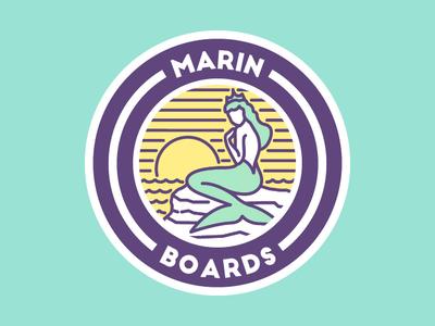 Logo para Marin Boards
