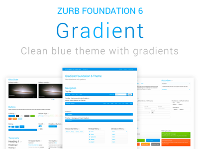 Gradient ZURB Foundation Theme