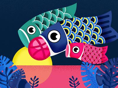 hello,Dribbble dragon boat festival flags carp