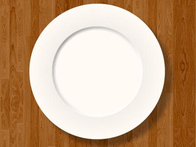empty plate plate icon empty