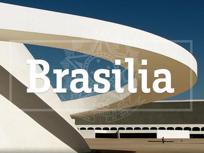 Brasilia brasilia brasil postal card