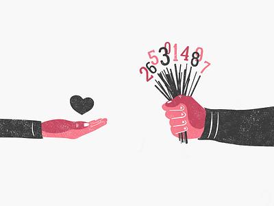 Barcode money nowadays couple woman man heart story love true barcode