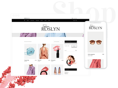 Roslyn - Fashion and Lifestyle Theme for Bloggers and Magazines shop modern creative website design trendy publishing magazine lifestyle girly fashion photography fashion magazine fashion blog fashion entertainment editorial blogger blog article blog beauty blog