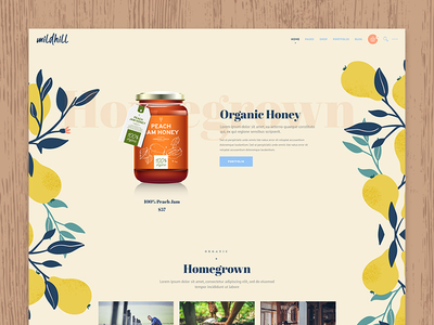 Mildhill web responsive design store skin care shop organic shop organic food organic nutritionist healthy food grocery food shop food cosmetics cosmetic shop agriculture