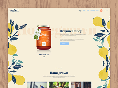 Organic Shop Designs Themes Templates And Downloadable Graphic Elements On Dribbble