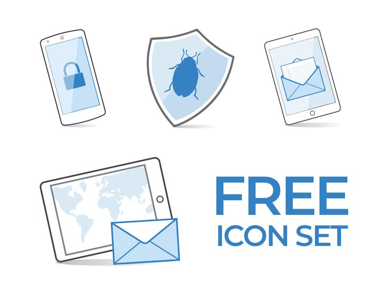 Free Icon Set icon website flat branding web vector web design ux ui outline illustrator illustration creative design