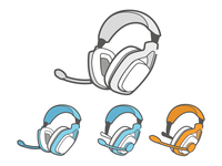 Headphones - Support Centre Illustration