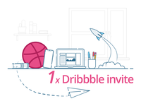 Win Dribbble Invite